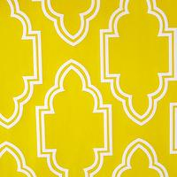 Wallpaper - Yellow Casablanca I roomservicestore - yellow and white moroccan wallpaper, moroccan wallpaper, bright yellow and white moroccan wallpaper,