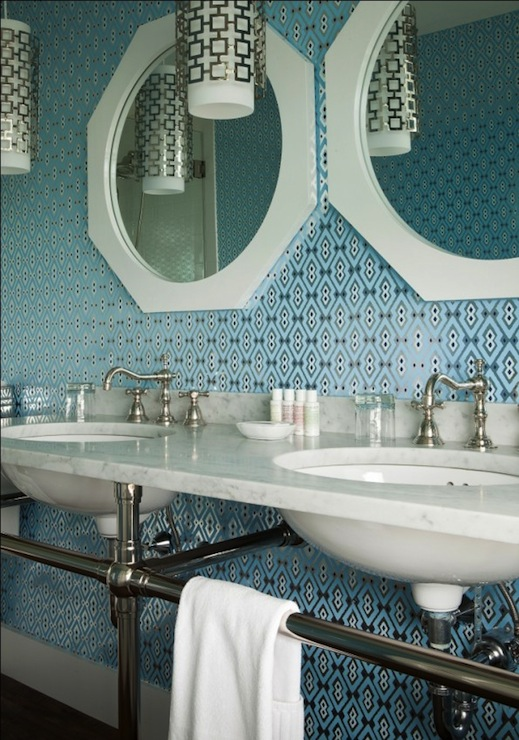 contemporary bathroom jonathan adler