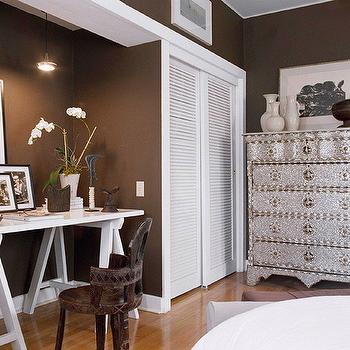 Desk Alcove, Contemporary, bedroom, BHG