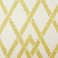 Fabrics - Duralee Berkeley Print Collection Lemon I LynnChalk.com - yellow and white geometric fabric, modern yellow and white fabric, yellow and white diamond trellis fabric,