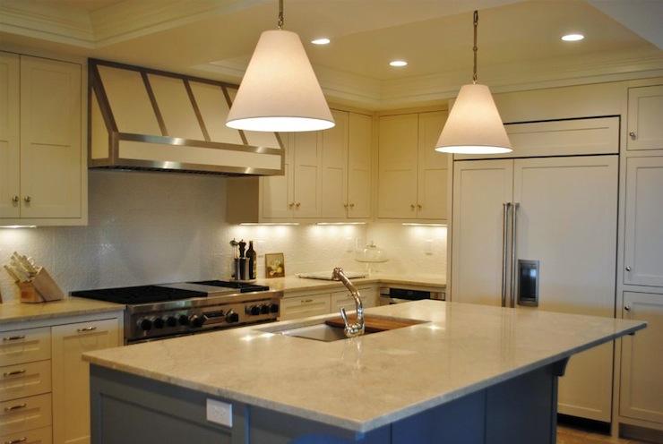 Cream Kitchen Cabinets Contemporary Kitchen Digs