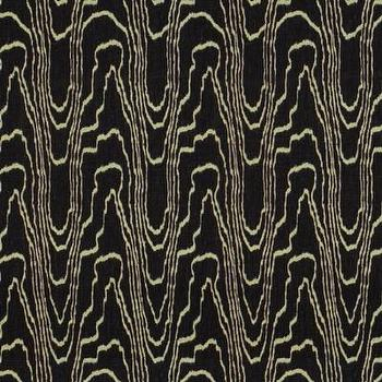 Fabrics - Kelly Wearstler Agate Black Beige Fabric I LynnChalk.com - black and beige fabric, abstract black and beige fabric, black and beige modern fabric,