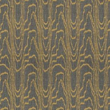 Kelly Wearstler Agate Taupe Gold Fabric I LynnChalk.com