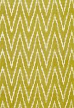 Fabrics - Schumacher Kasari Ikat Palm Fabric I LynnChalk.com - mustard ikat fabric, mustard ikat zig zag fabric, mustard yellow fabric,
