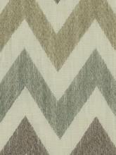 Fabrics - Robert Allen Precise Stitch Stone Fabric I LynnChalk.com - mineral toned chevron fabric, mineral tone chevron fabric, chevron fabric,