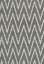Schumacher Kasari Ikat Graphite Fabric I LynnChalk.com