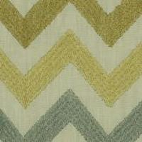 Fabrics - Robert Allen Precise Stitch Topaz Fabric I LynnChalk.com - blue and gold chevron fabric, three colorway chevron fabric, mineral tone chevron fabric,