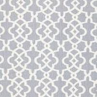 Fabrics - Summer Palace Fret Wisteria Fabric I LynnChalk.com - wisteria colored fabric, lavender and white trellis fabric, trellis fabric,