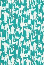 Fabrics - Trina Turk Beauty Bark Print Laguna Fabric I LynnChalk.com - turquoise and white fabric, turquoise and white abstract fabric,