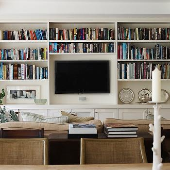 Living Room Built In Cabinets Design Ideas  DecorPad