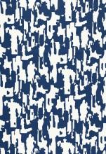Fabrics - Trina Turk Beauty Bark Print Ocean Fabric I LynnChalk.com - navy and white fabric, navy and white abstract fabric,