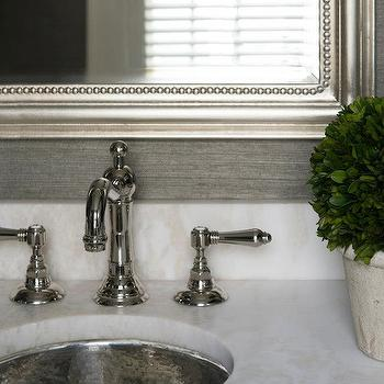 Hammered Sink, Transitional, bathroom, Pinney Designs