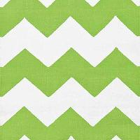 Rugs - Chevron Apple/White Indoor/Outdoor | Dash & Albert Rug Company - green and white chevron rug, green and white indoor outdoor chevron rug,