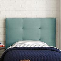 Beds/Headboards - Skyline Furniture Micro-Suede Upholstered Headboard | Wayfair - turquoise micro-suede headboard, turquoise button tufted headboard, turquoise micro-suede button tufted headboard,