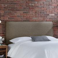 French Wing Upholstered Framed Bed Beds Restoration
