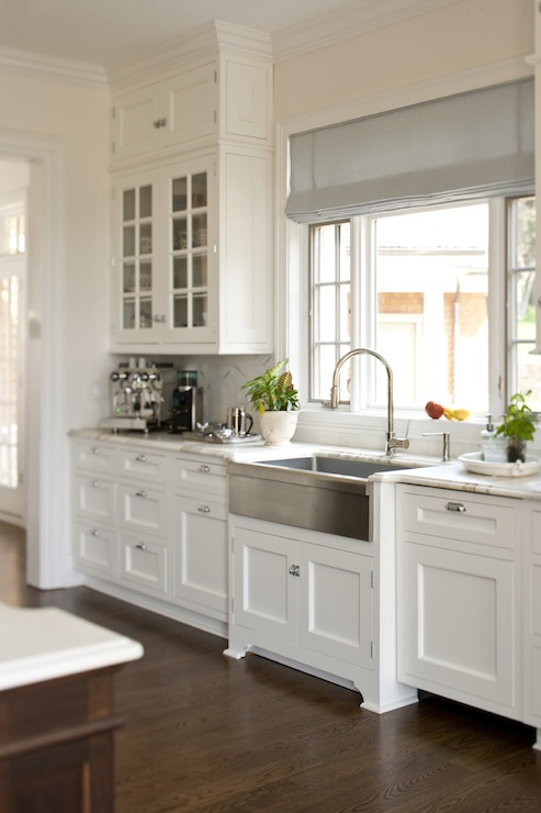 stainless steel apron sink transitional kitchen m frederick