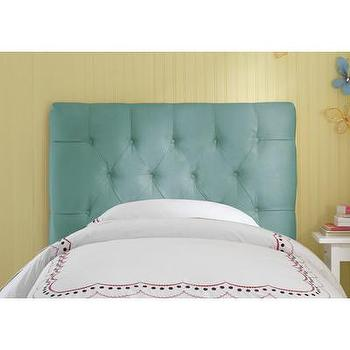 Skyline Furniture Tufted Micro-Suede Upholstered Headboard, Wayfair