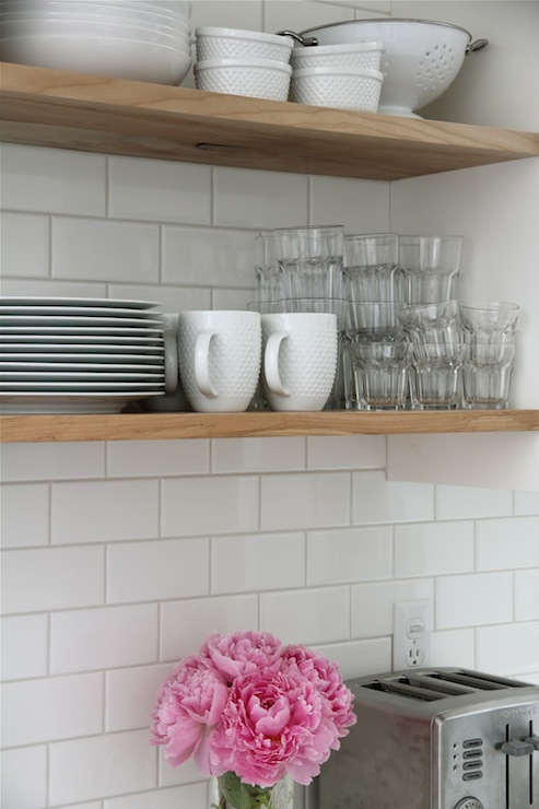 Home Depot Subway Tile Transitional Kitchen Our House