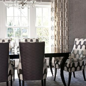Martin Lawrence Bullard Fabric, Contemporary, dining room, Muse Interiors