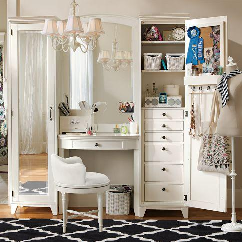 hampton vanity tower super set pbteen