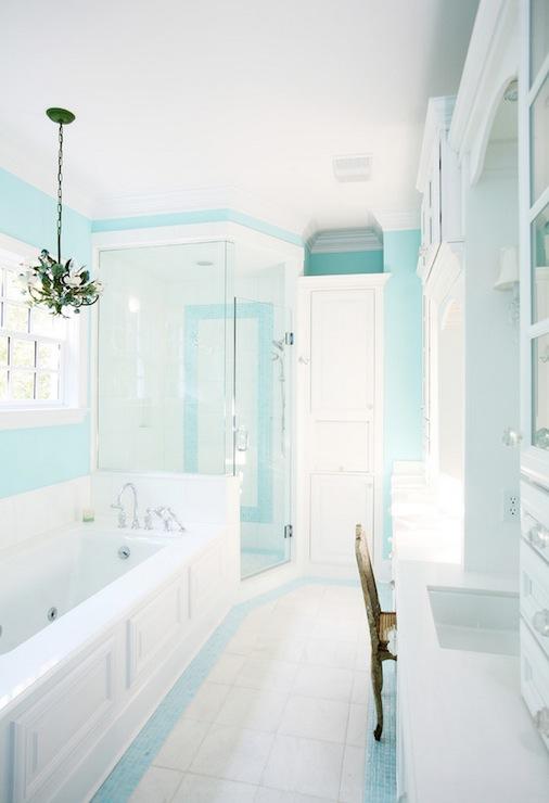 Tiffany Blue Bathroom Designs : Spa - tiffany blue bathroom, tiffany blue walls, tiffany blue bathroom ...
