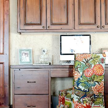 Chiang Mai Dragon Aquamarine Fabric, Transitional, den/library/office, Caitlin Wilson Design