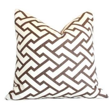 Aga Brown Pillow I Ariannabelle.com