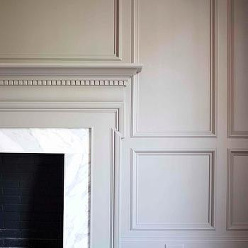 Fireplace Millwork, Traditional, living room, L. Kae Interiors