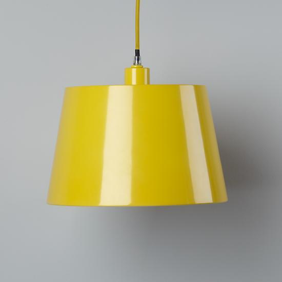 Ceiling Lights Yellow : Yellow rectangle ceiling lamp the land of nod