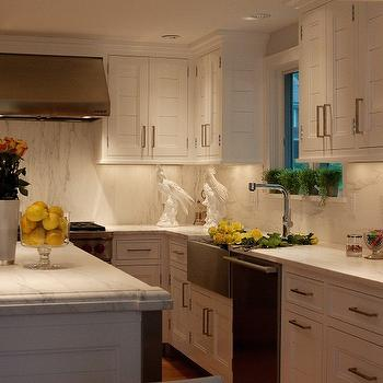 Paneled Kitchen Cabinets, Transitional, kitchen, Marcia Tucker Interiors