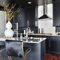 Navy blue design decor photos pictures ideas for Navy blue granite countertops