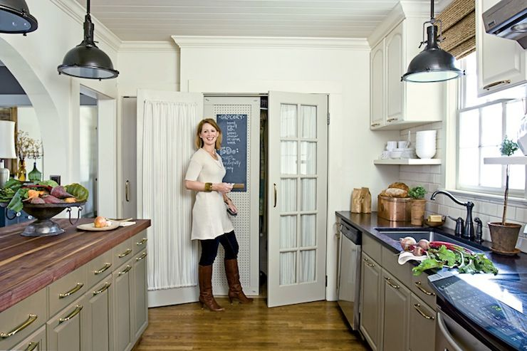 Galley Kitchen Cottage Kitchen Farrow Amp Ball Lime