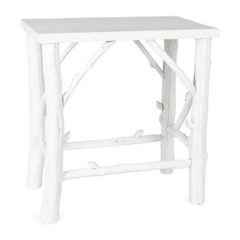 Tables - Small Wooden Branch Table I Zara Home - white branch table, white branch based table, small wooden branch table,