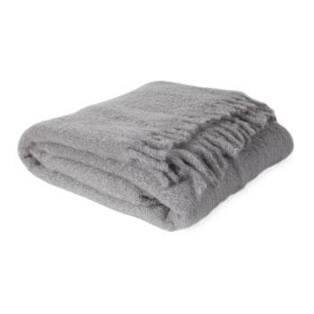Decor/Accessories - Gray Mohair Wool Throw I Zara Home - gray throw, gray wool throw, gray mohair throw,