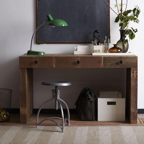 emmerson desk west elm. Black Bedroom Furniture Sets. Home Design Ideas