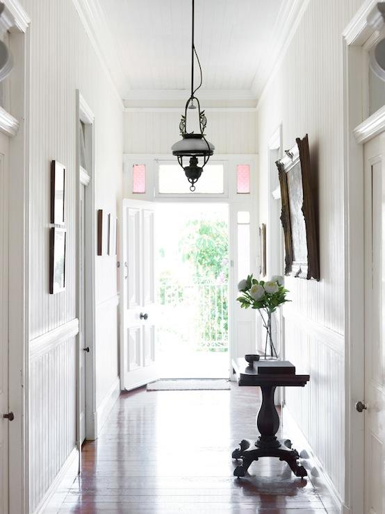 Long Foyer Design Cottage Entrance Foyer Toby Scott