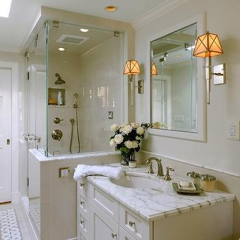 Cream Bathroom Vanity, Traditional, bathroom, Thorsen Construction