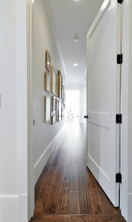Hallway Photo Wall Transitional Entrance Foyer