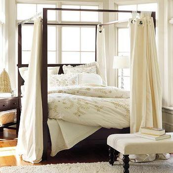 Farmhouse Canopy Bed, Pottery Barn