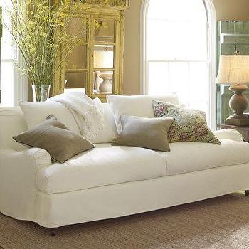 Seating - Carlisle Slipcovered Grand Sofa | Pottery Barn - slipcovered sofa, white slipcovered sofa, slip covered rolled arm sofa,