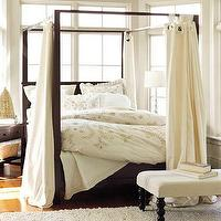 Beds/Headboards - Farmhouse Canopy Bed | Pottery Barn - canopy bed, four poster bed, four poster canopy bed,