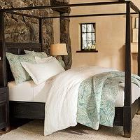 Beds/Headboards - Dawson Canopy Bed | Pottery Barn - canopy bed, four poster bed, four poster canopy bed,