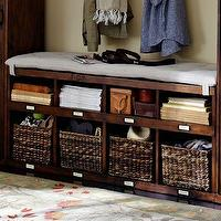 Brady 4 Piece Open Entryway Suite Pottery Barn