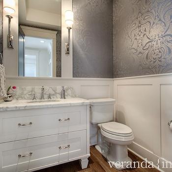 Board And Batten Contemporary Bathroom Evars And
