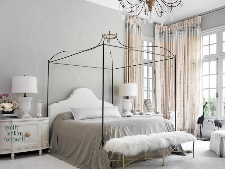 Gray Bedroom French Emily Followill Photography
