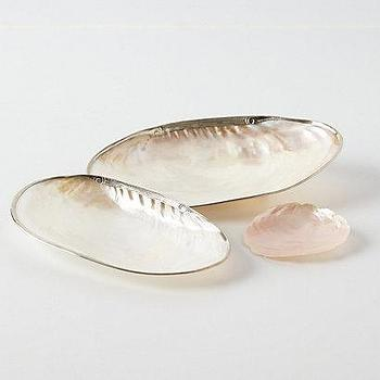 Pearly Oyster Bath Collection I Anthropologie.com