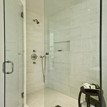 Thasso Dolomite Tile, Contemporary, bathroom, Hampton Design