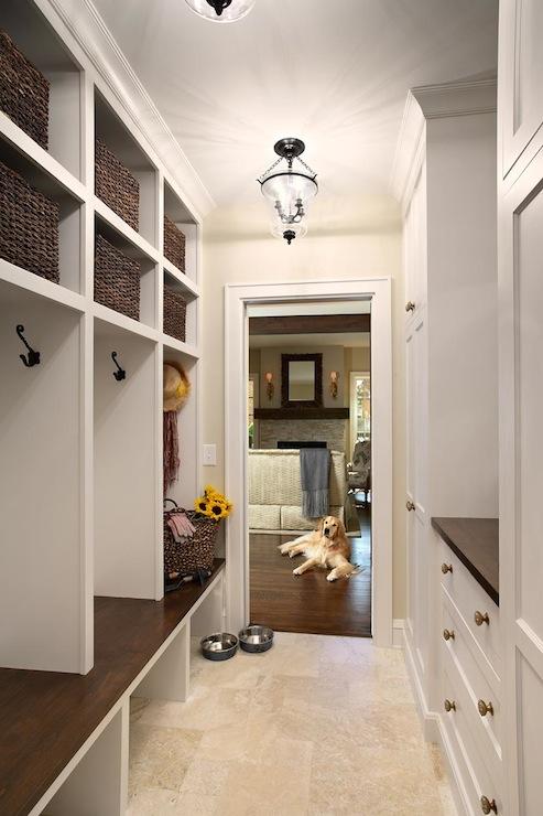 Mudroom Lockers Traditional Laundry Room Elsie Interior