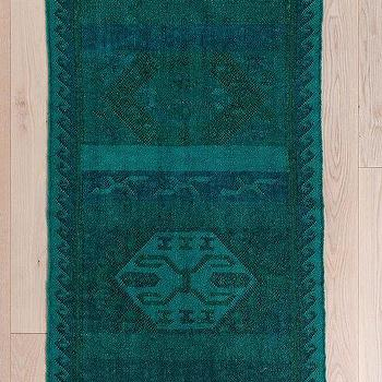Rugs - Magical Thinking Overdyed Kilim Rug I Urban Outfitters - overdyed kilim rug, teal overdyed rug, teal overdyed kilim rug,