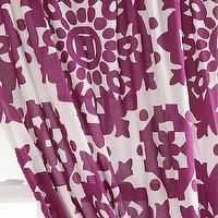 Window Treatments - Papercut Medallion Curtain I Urban Outfitters - purple and white medallion curtains, purple and white medallion drapes,